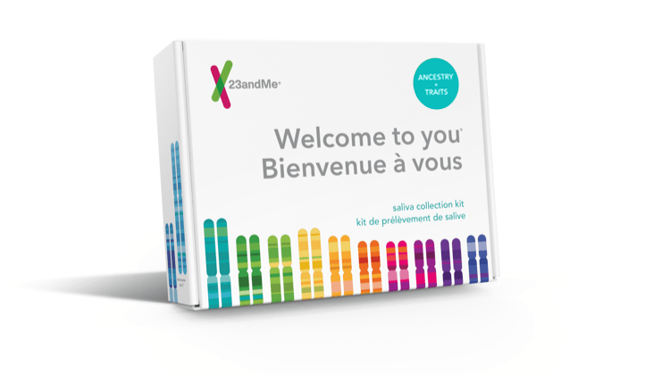 23andMe Canada DNA Ancestry test kit - add to cart