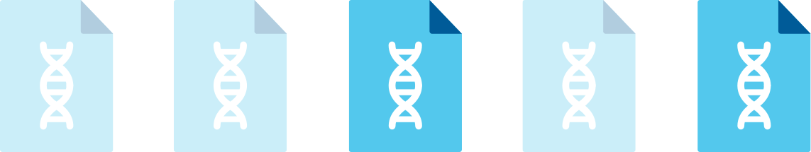 See our list of Personalized Genetic Reports - 23andMe