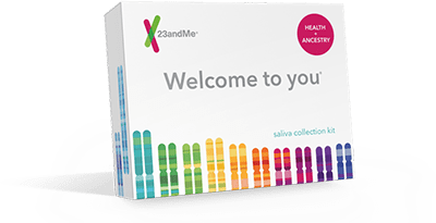 23andMe DNA Health and Ancestry test kit - add to cart