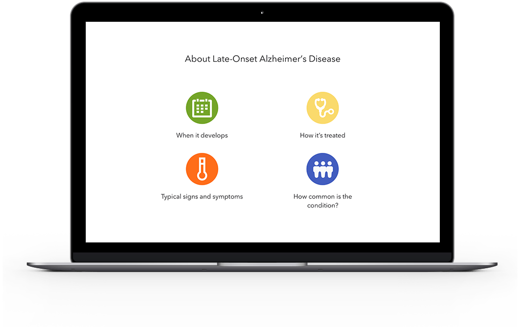 information and resources about late-onset alzheimer's disease